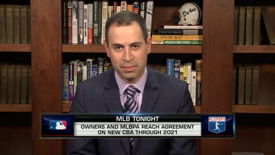 Morosi discusses CBA deal