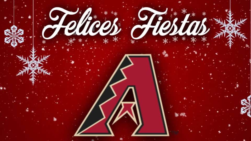D-backs desean Felices Fiestas
