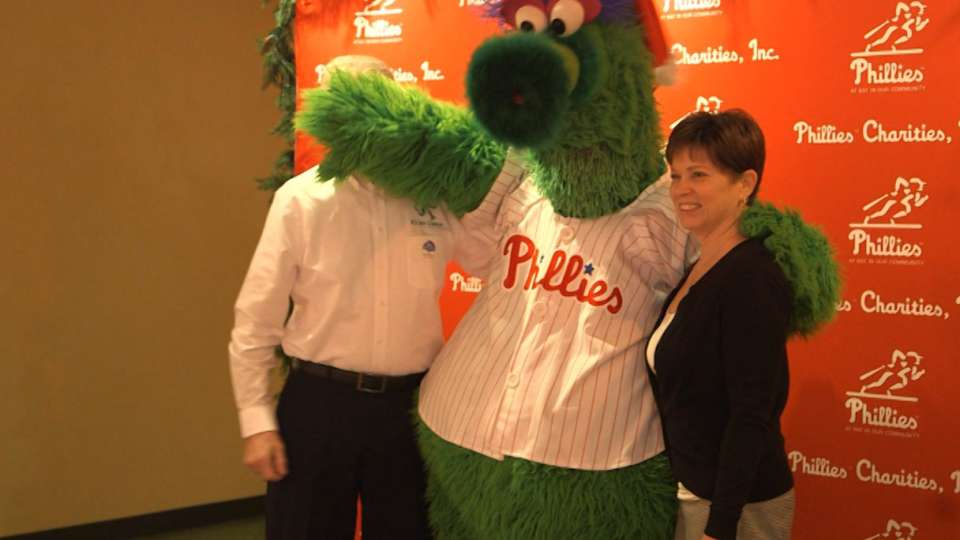 Phillies host holiday party