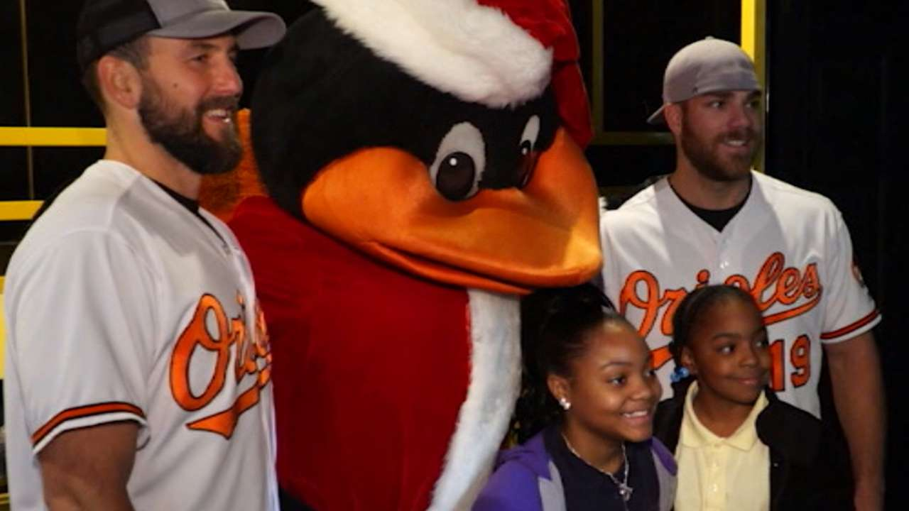 Orioles  Chris Davis and wife helping ill kids  739ace514fa