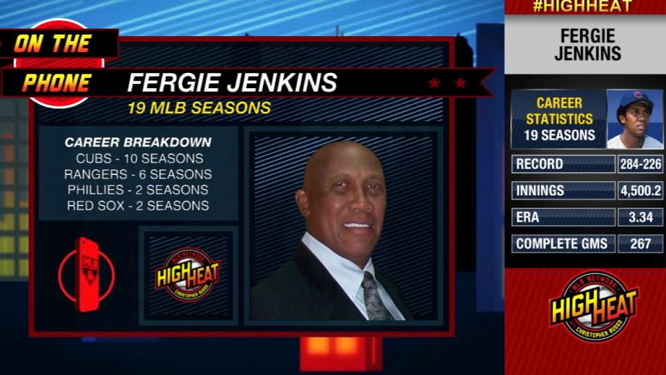 Fergie Jenkins calls High Heat