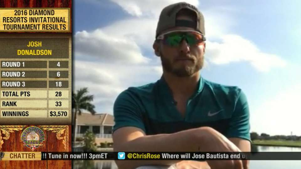 Donaldson on his golf game