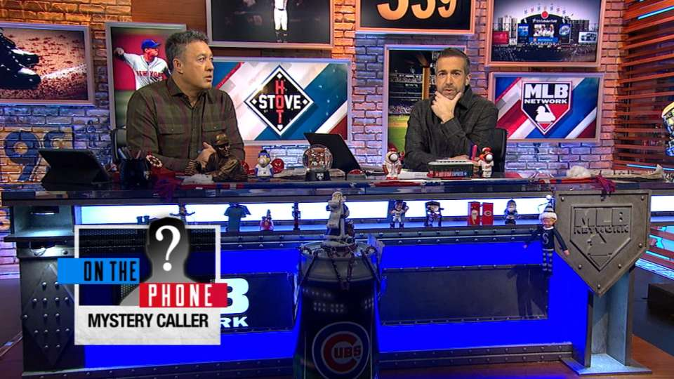 Mystery guest joins Hot Stove