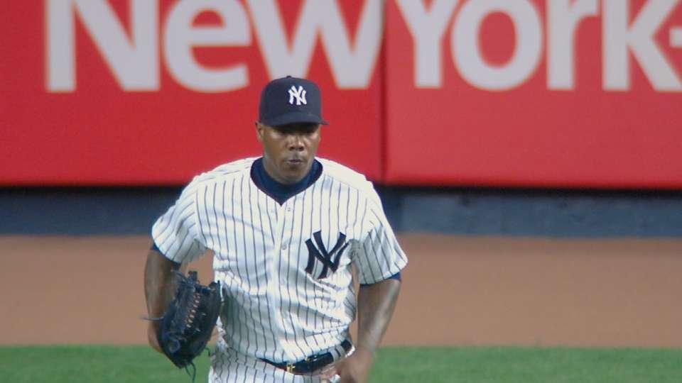Yankees finalize Chapman deal