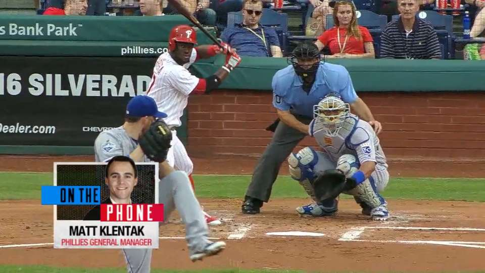 Klentak talks Phillies' rebuild