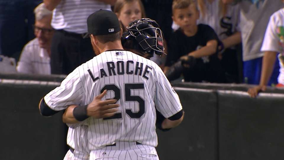 LaRoche to step away from MLB