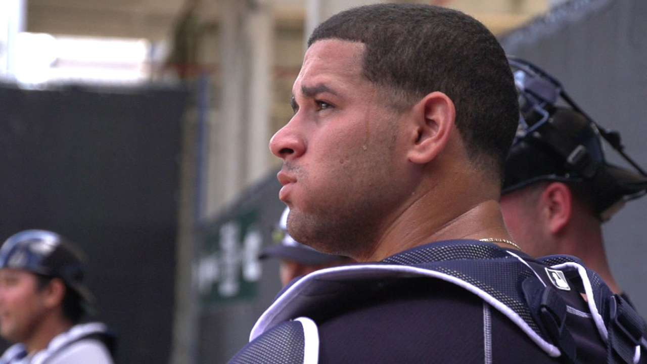 Catcher Gary Sanchez Looks To Join Yankees Mlb