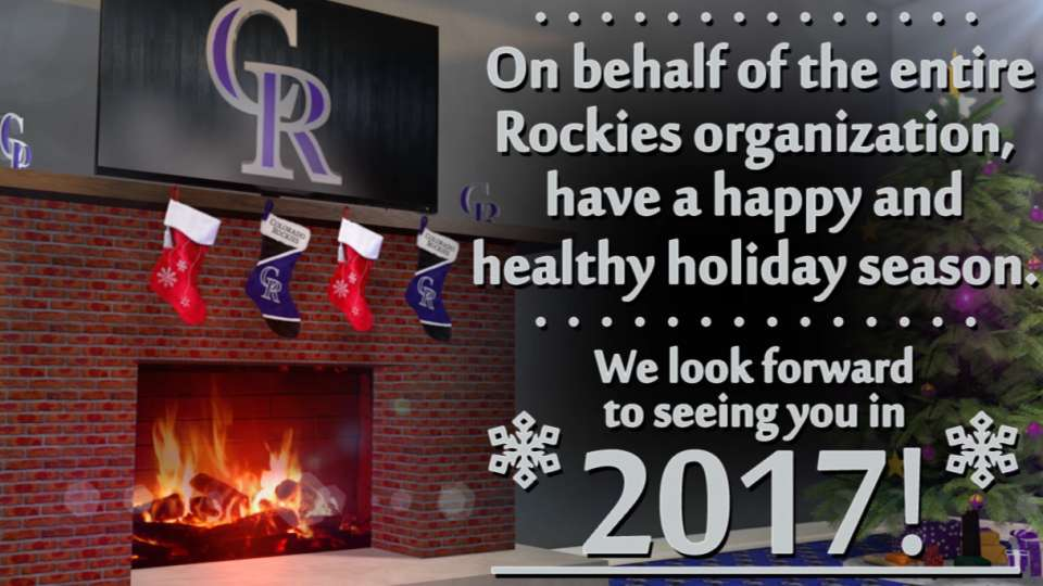 Happy Holidays from the Rockies