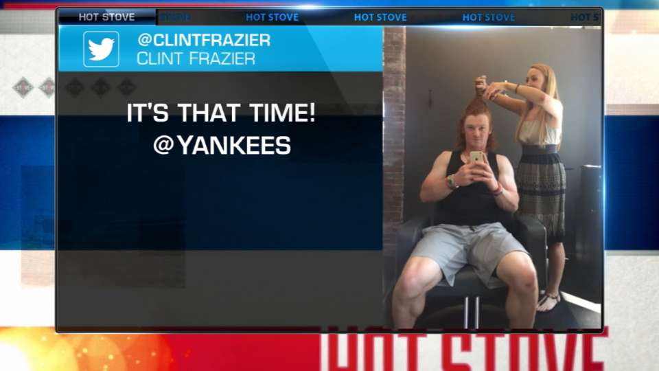 Frazier on his haircut
