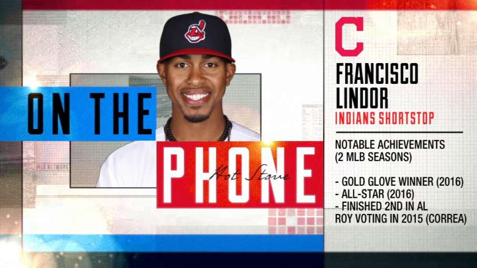 Lindor joins Hot Stove