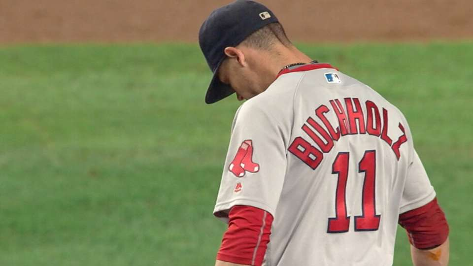 Red Sox move on from Buchholz