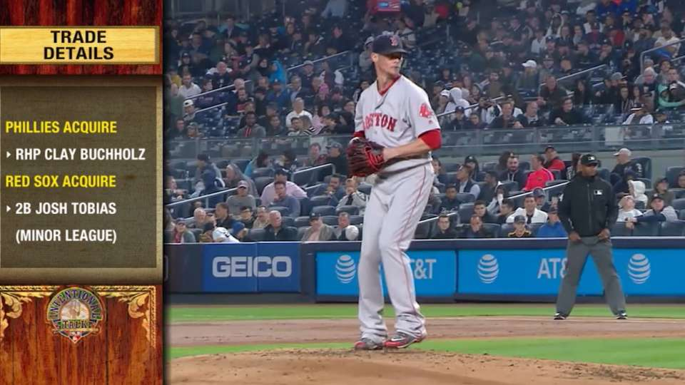 IT: Phillies acquire Buchholz
