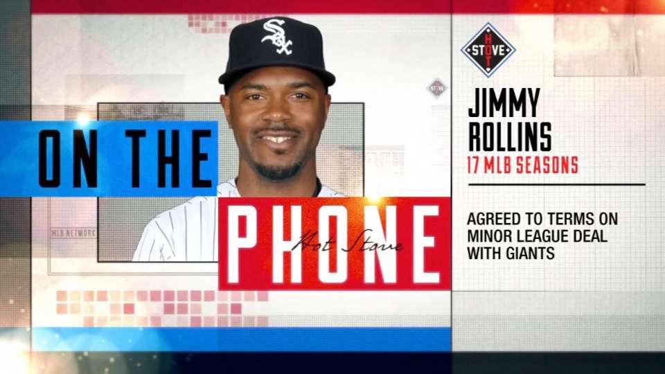 Jimmy Rollins calls Hot Stove