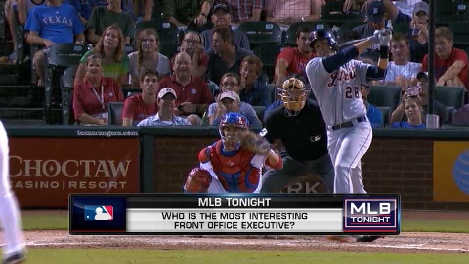 MLB Tonight: Front office execs