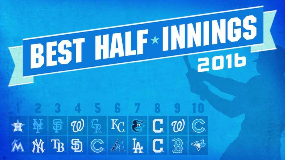 2016's best half-innings