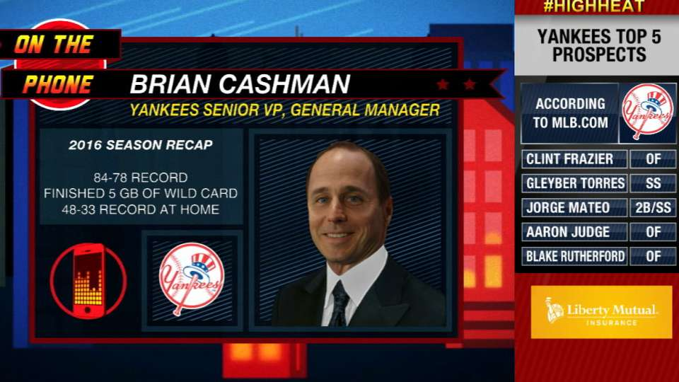 Cashman on Yankees' youth