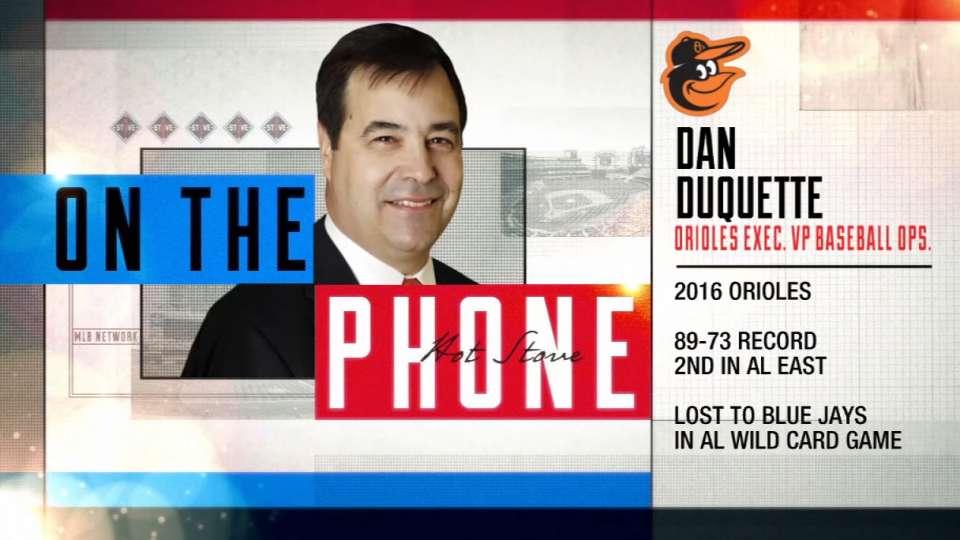 Dan Duquette calls Hot Stove