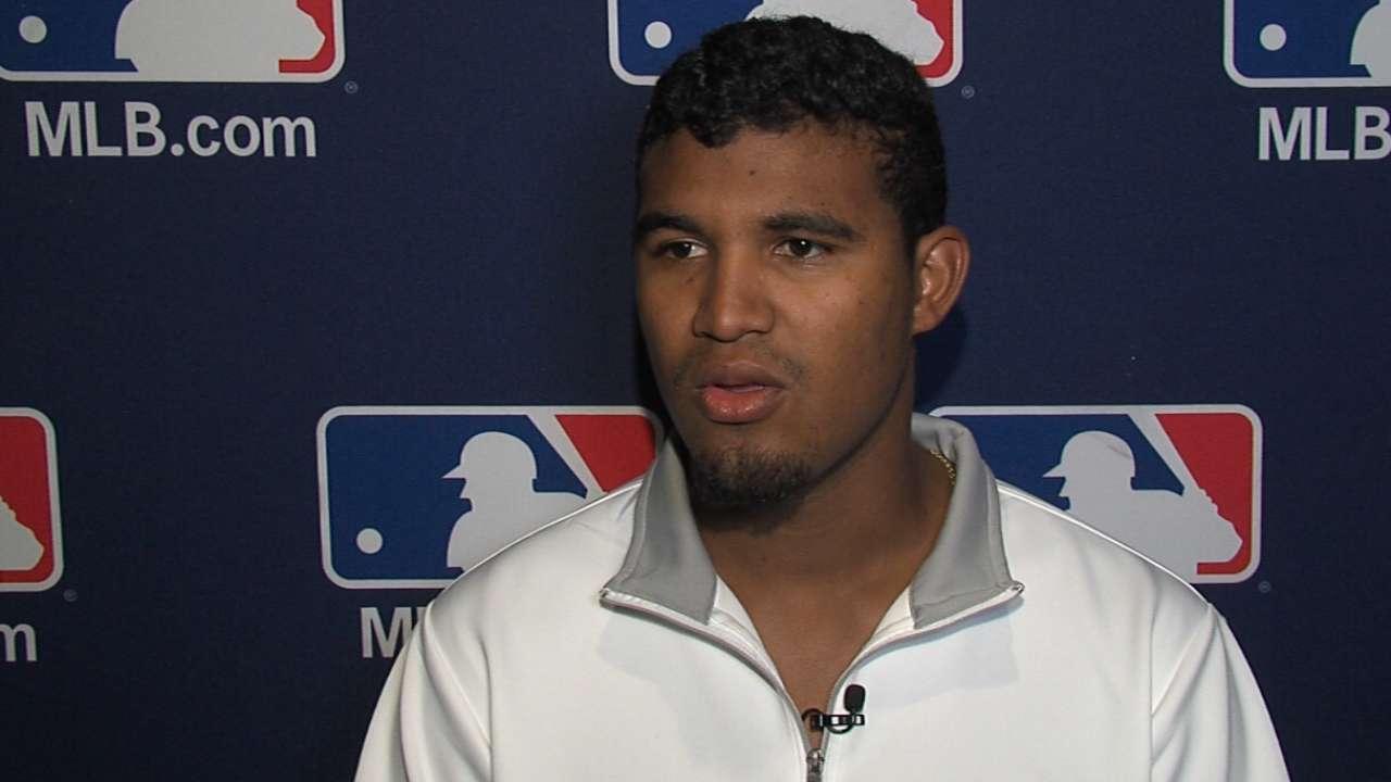 El zurdo Yohander Méndez empezaría el 2017 en Triple-A de los Rangers