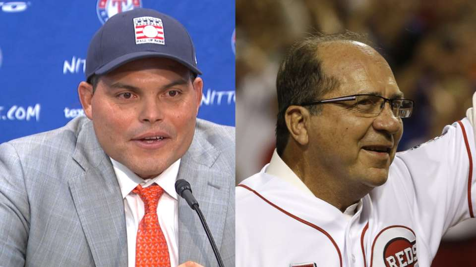 Pudge holds admiration for Bench