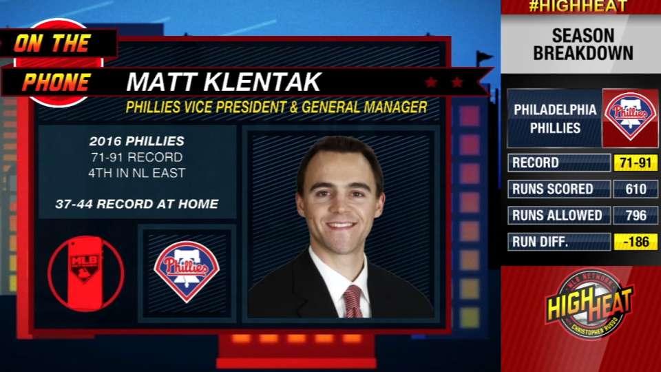 Matt Klentak joins High Heat