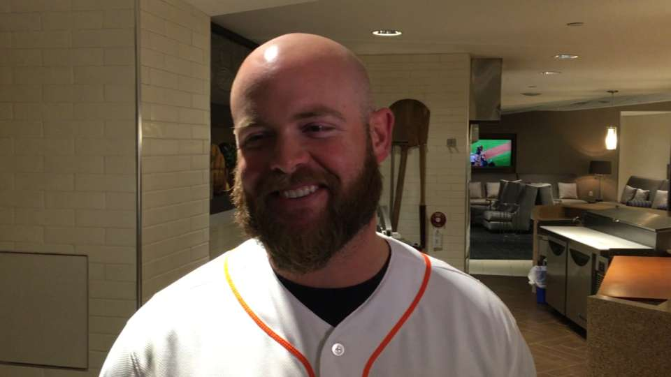 McCann happy to have beard again