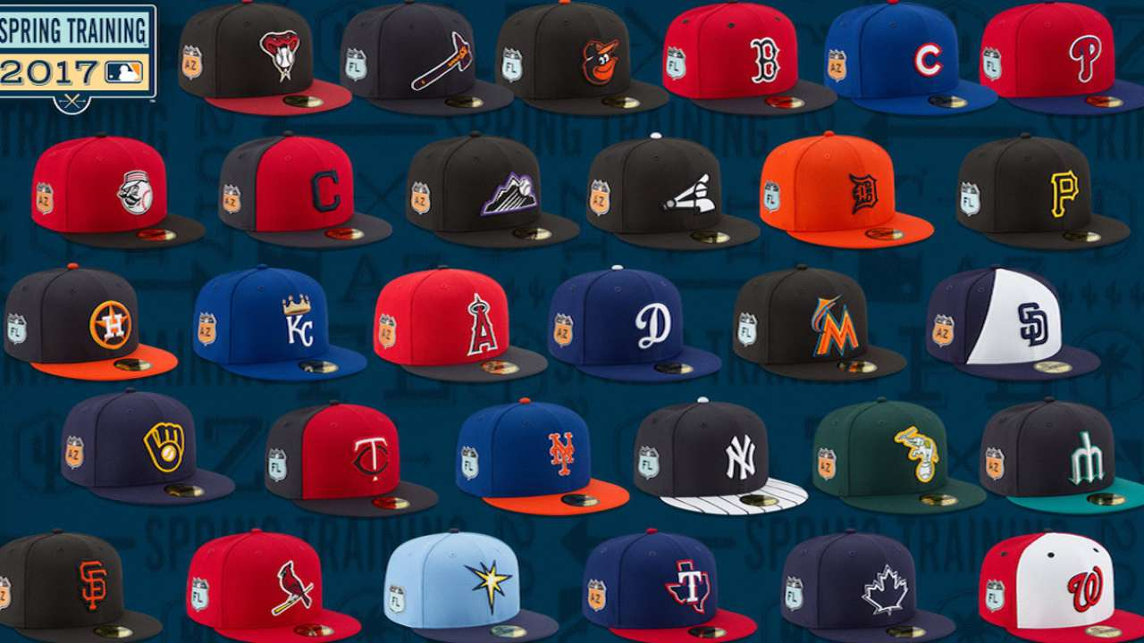 0e8b8280631 Photos  MLB s new Spring Training caps