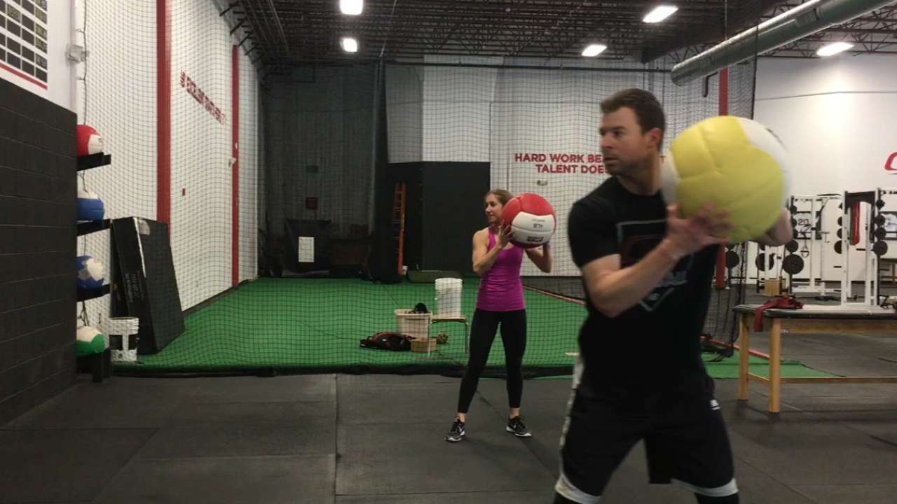 Indians Corey Kluber Training Hard For 2017