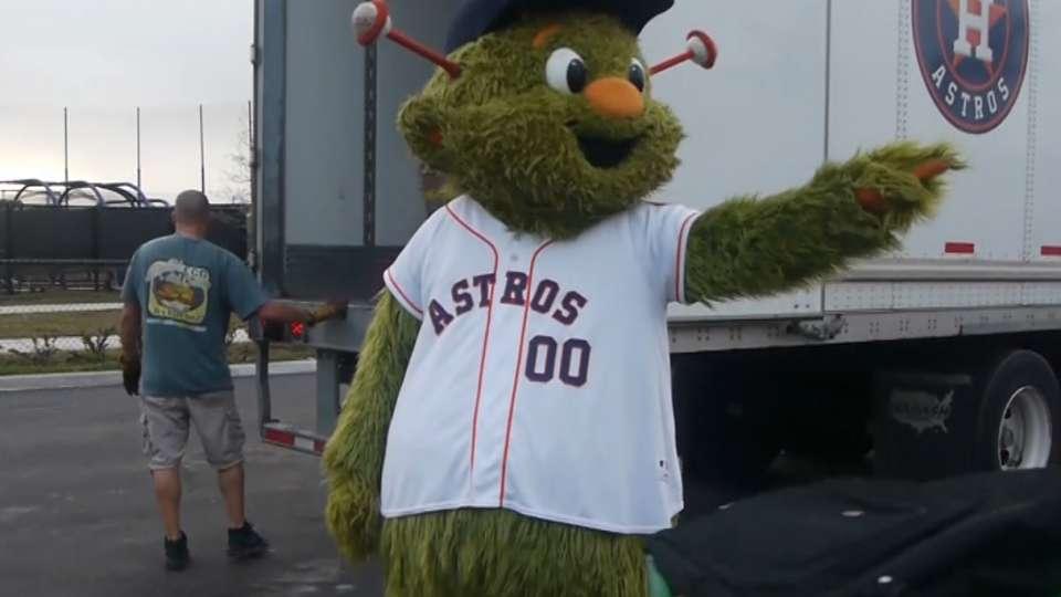 Equipo de Los Astros llega a FL