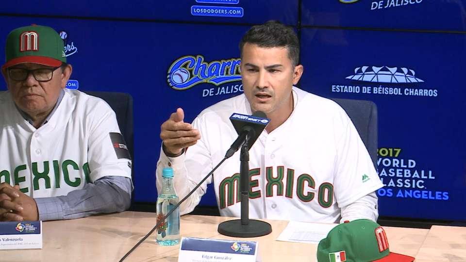 Gonzalez anuncia roster de MEX