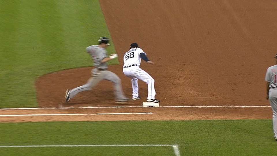 Missed call ends perfect game