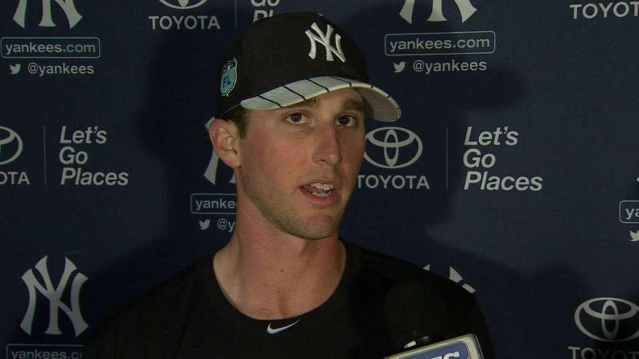 b858de5e9c1 Yankees  Dellin Betances sharp in spring debut