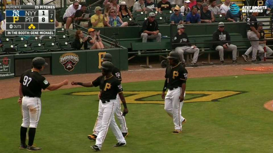 Hughston's bases-clearing double