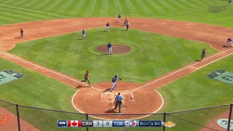 Howell starts 1-2-3 double play