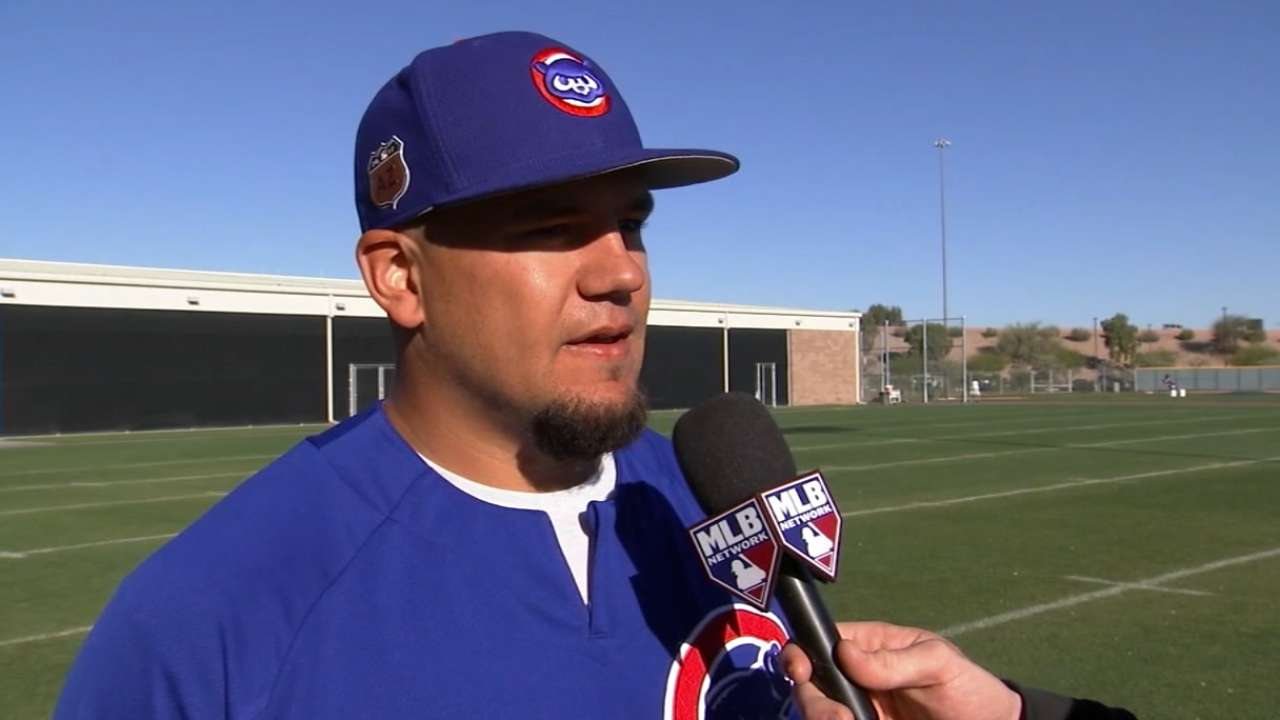Kyle Schwarber talks outfield 24a1f1df5ad8