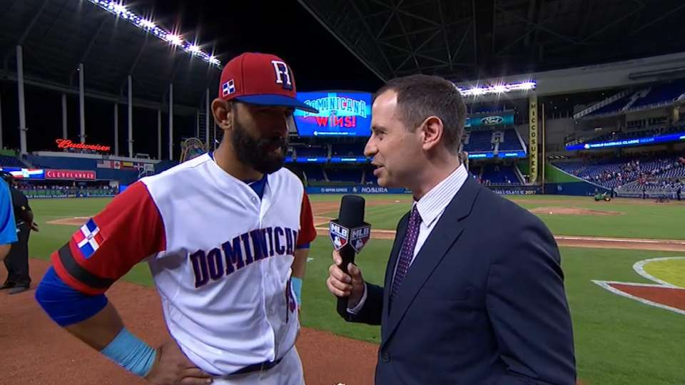 Bautista on DR's 9-2 win