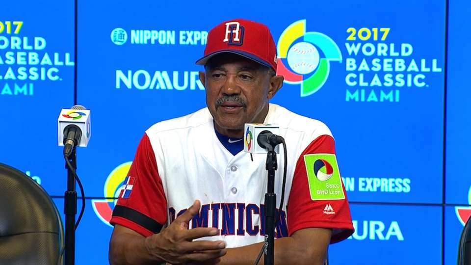 Pena on 9-2 win over Canada