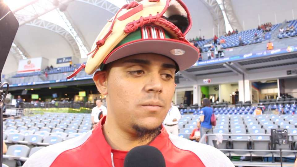 Osuna proud to play for Mexico