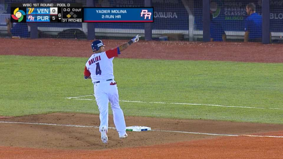Molina's two-run homer