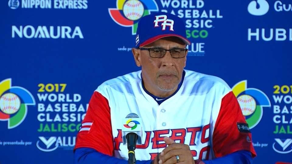 Rodriguez on Puerto Rico's win