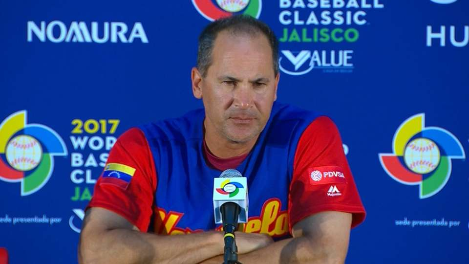 Vizquel on loss to Puerto Rico