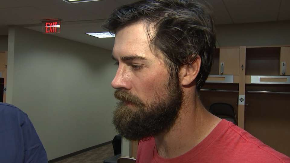 Hamels on his approach at camp