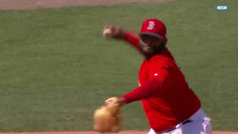 Sandoval's great defensive play