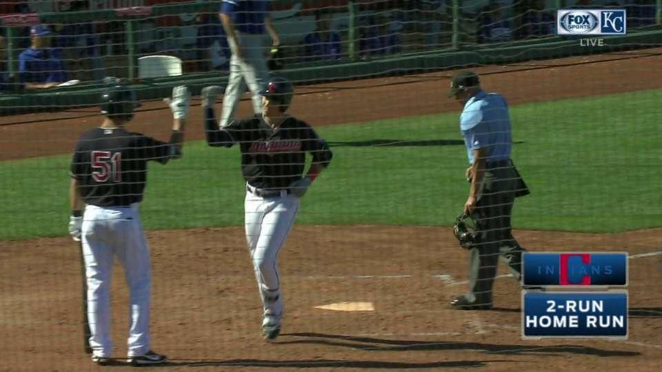 Shaffer's two-run home run