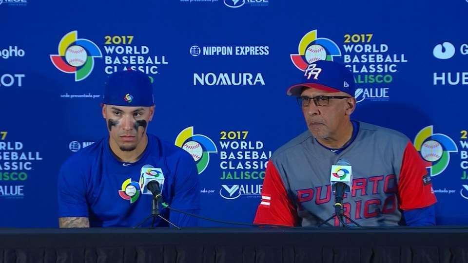 Baez, Rodriguez hablan