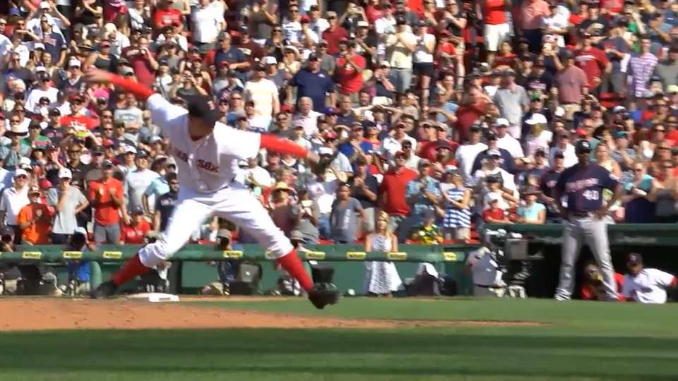 Ziegler on his pitching style