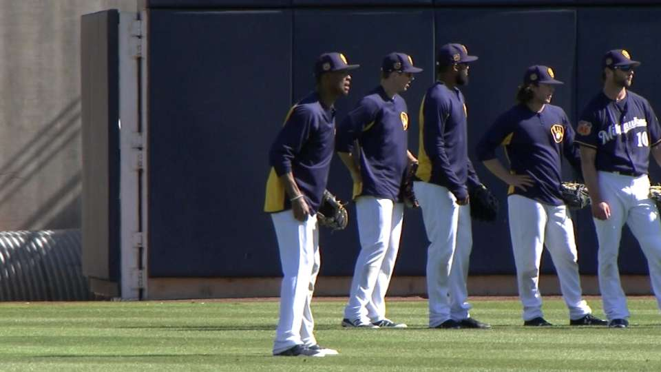 Counsell on outfield depth