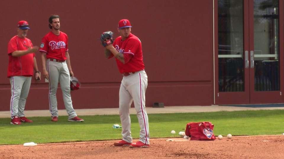 Velasquez talks no-hit bid