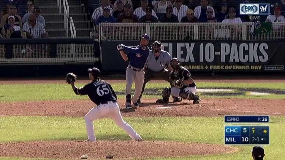 Hannemann's two-run homer