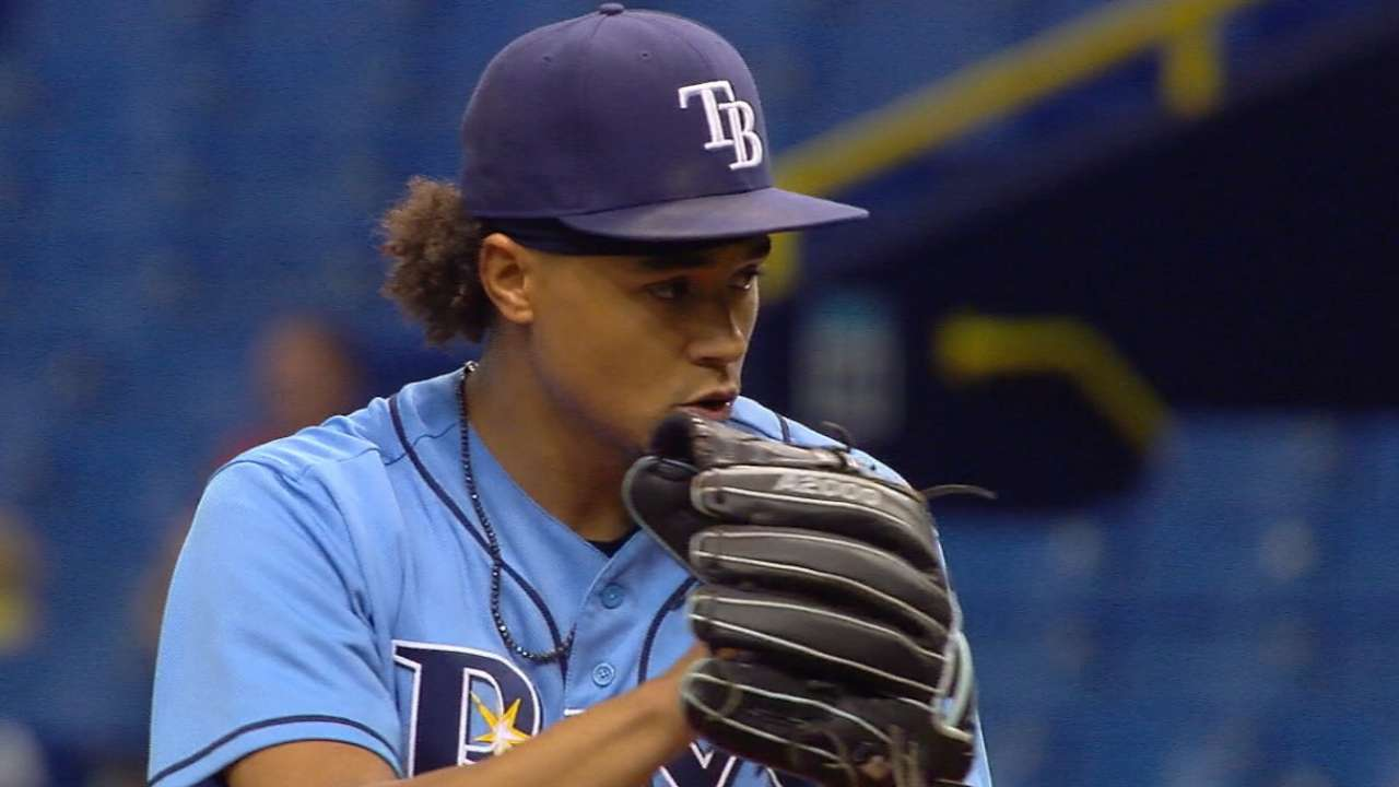 954dc9edf82 Rays name Chris Archer Opening Day starter