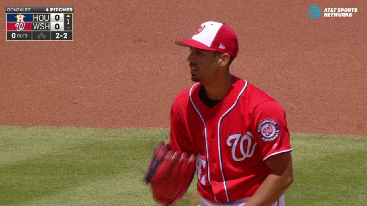 Nats  Gio Gonzalez finds positives in start  dd09b41e293